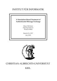 A Simulation-Based Treatment of Authenticated Message Exchange