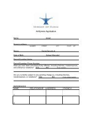 ARTWORKS Application - Milwaukee Art Museum