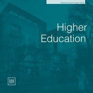 Higher Education - IBI Group