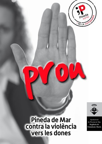 Pineda de Mar contra la violència vers les dones - Ajuntament de ...