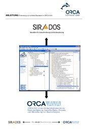 Anleitung zum Import der sirAdos-Baudaten
