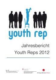 Jahresbericht Youth Rep 2012 , 870.6 KB - SAJV