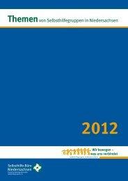 Einzelseiten, für Ausdruck - Selbsthilfe-Büro Niedersachsen