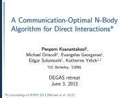 Communication Avoiding N-body Simulations