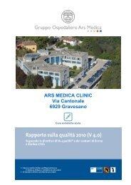 ARS MEDICA CLINIC Via Cantonale 6929 Gravesano
