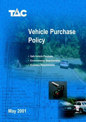 vehicle purchase policy.pdf - ERSO