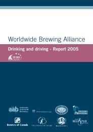 Drinking and Driving Report 2005 - European Commission - Europa