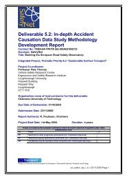 In-depth accident causation data study methodology ... - ERSO