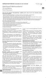 DoloVisano® Methocarbamol - Dr. Kade