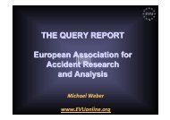 European Association for Accident Research and Analysis - ERSO