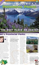 British Columbia's Provincial Parks - Wilderness Committee