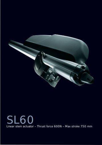 Max stroke 750 mm - Market