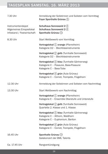LSEW 2013 Programm Situationsplan Auszug