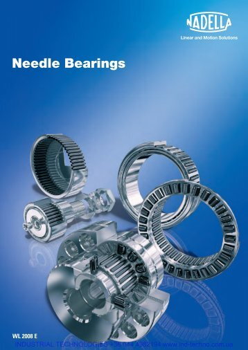 Needle Bearings Nadella - Industrial Technologies