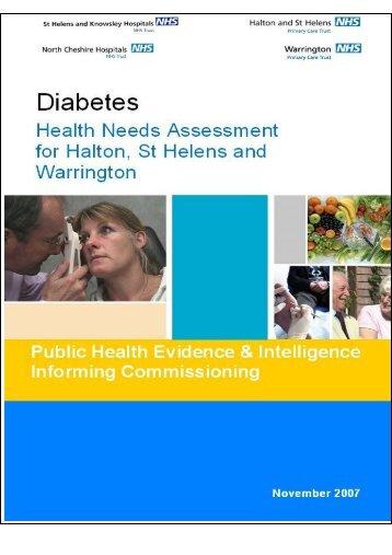 Diabetes HNA - Halton and St Helens PCT