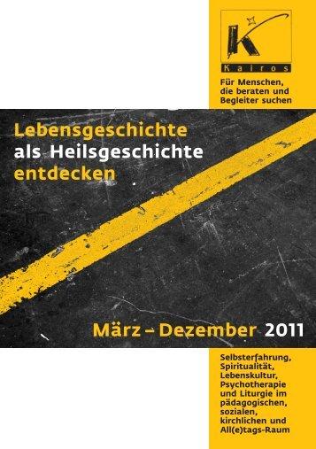 Lebensgeschichte als Heilsgeschichte entdecken März – Dezember ...