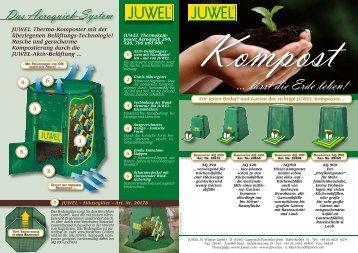 Kompost … lässt die Erde leben! - Juwel
