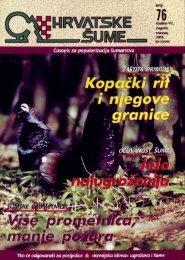 Tetrijeb gluhan - Hrvatske šume