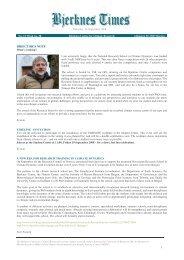 Bjerknes Times 13/2008 (pdf) - Bjerknessenteret for klimaforskning