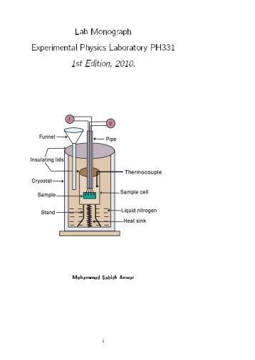 Physics 124 Lab Manual