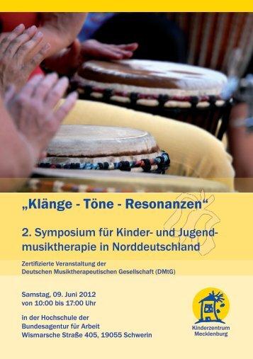 """""""Klänge - Töne - Resonanzen"""" - Kinderzentrum Mecklenburg"""