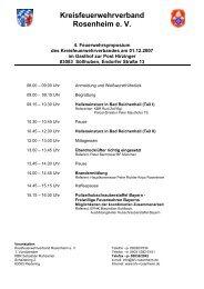 Programm zum Ausdrucken (pdf) - KFV Rosenheim