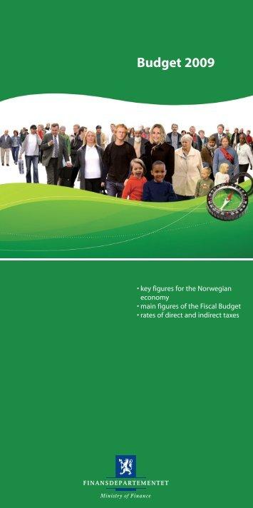 budget 2009.pdf - Statsbudsjettet
