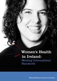 Women's Health in Ireland: