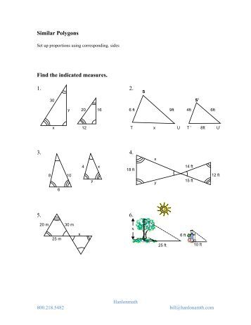 7.2 Exploring Similar Polygons