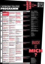 Leporell0 - 17. Internationale Schillertage
