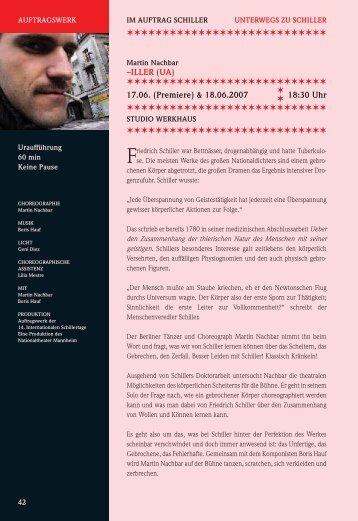 iller (ua) - 17. Internationale Schillertage