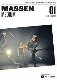 Festivalzeitung Ausgabe 1 vom 21. Juni 2013 - 17. Internationale ...