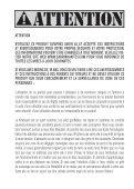 MANUEL D'UTILISATION DE L'AILE FRANCAIS - Cabrinha - Page 2