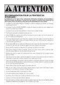 MANUEL D'UTILISATION DE L'AILE FRANCAIS - Cabrinha - Page 3