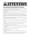 MANUEL D'UTILISATION DE L'AILE FRANCAIS - Cabrinha - Page 4