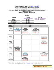SESI 1 - UiTM Johor