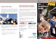 Flyer Hanau fährt weiter Bus
