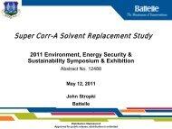 Super Corr-A Solvent Replacement Study - E2S2