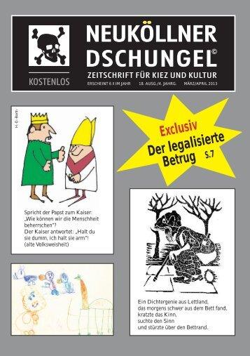 Ausgabe 18 - im Neuköllner Dschungel