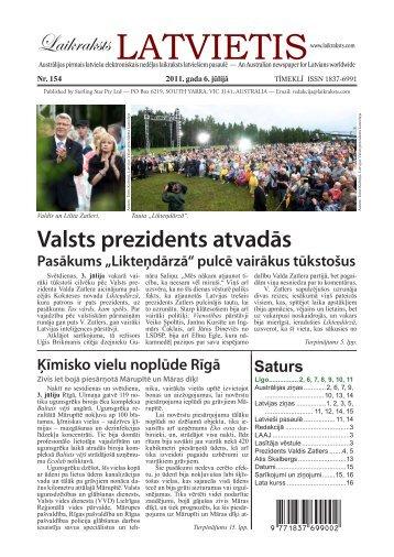 """Laikraksts """"Latvietis"""" 154"""