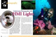 Underwater Photography with - X-Ray Mag