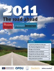 2011: the road ahead - Engaged Investor