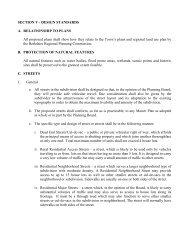 SECTION V - DESIGN STANDARDS A. RELATIONSHIP TO ... - Lenox