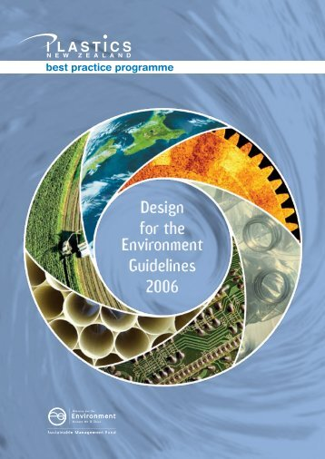 Design for the Environment Guidelines 2006 - Plastics New Zealand