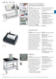 Deutscher - KERN & SOHN GmbH