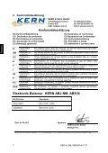Betriebsanleitung Analysenwaage - Waagenshop.biz - Seite 7