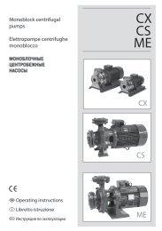 CS ME CX - Consolidated Pumps