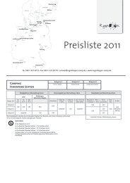 Preisliste 2011 - Urlauber-Tipp.de