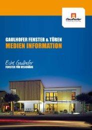 Informationen zu Gaulhofer