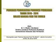 Oleh : Dr. Ir. Made L Nurdjana Direktur Jenderal ... - Kadin Indonesia